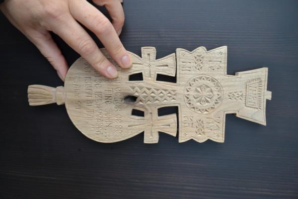 Jurnal cruci lemn si alte obiecte din traditia ortodoxa romaneasca si populara lucrate manual
